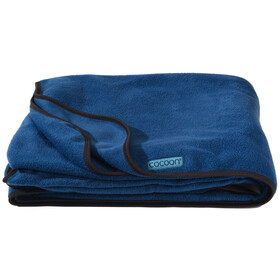 Cocoon fleece Blanket midnight blue